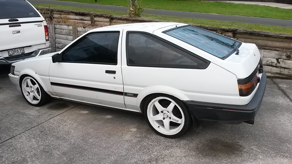 Scrmntoy's 1983 Toyota AE85 - Projects and Build Ups